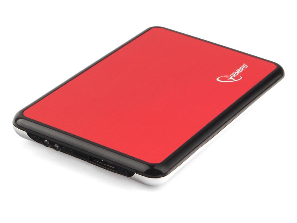 Внешний корпус Gembird EE2-U3S-61 USB 3.0 SATA Metallic Red