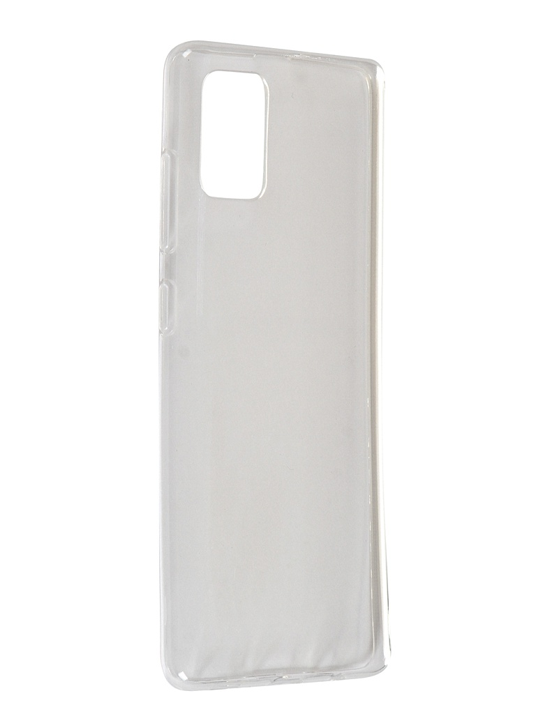 Чехол Zibelino для Samsung Galaxy A51 A515 Ultra Thin Case Transparent ZUTC-SAM-A51-WHT чехол zibelino для samsung galaxy a21s a217 ultra thin case transparent zutc sam a217 wht