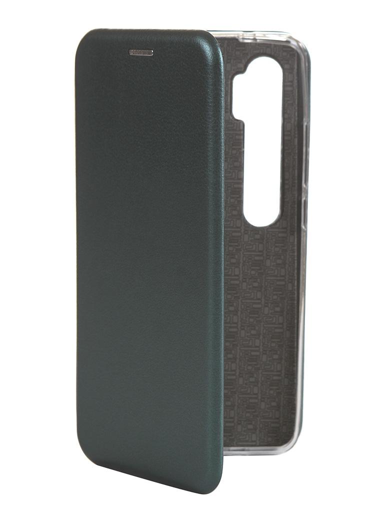 Чехол Zibelino для Xiaomi Mi Note 10/Mi CC9 Pro 2019 Book Dark Green ZB-XIA-RDM-N10-DGRN