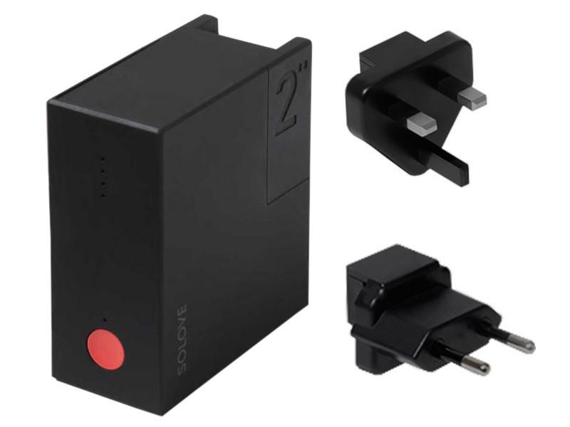 Внешний аккумулятор Xiaomi Solove Power Bank W2 5000mAh Black