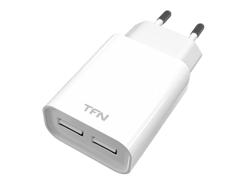 Зарядное устройство TFN 2xUSB 2.4A White TFN-WC2U24AWH фото