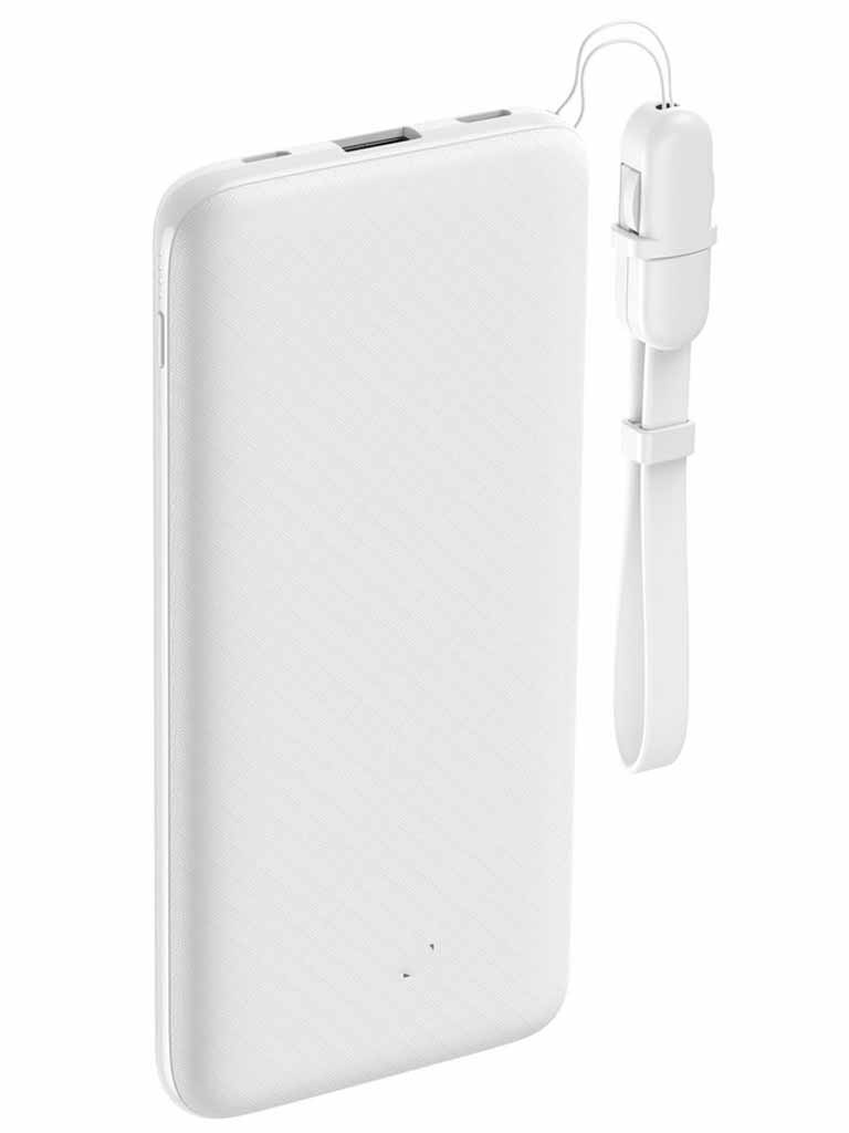 Внешний аккумулятор TFN PowerStation 10000mAh White TFN-PB-210-WH