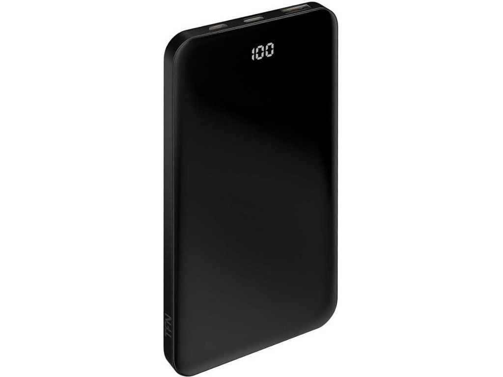 Внешний аккумулятор TFN Power Bank Shade LCD 5000mAh Black TFN-PB-209-BK