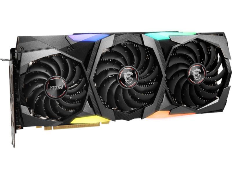 Видеокарта MSI GeForce RTX 2070 Super 1815Mhz PCI-E 3.0 8192Mb 15.5 Gbps 256 bit HDMI 3xDP Gaming Z Trio