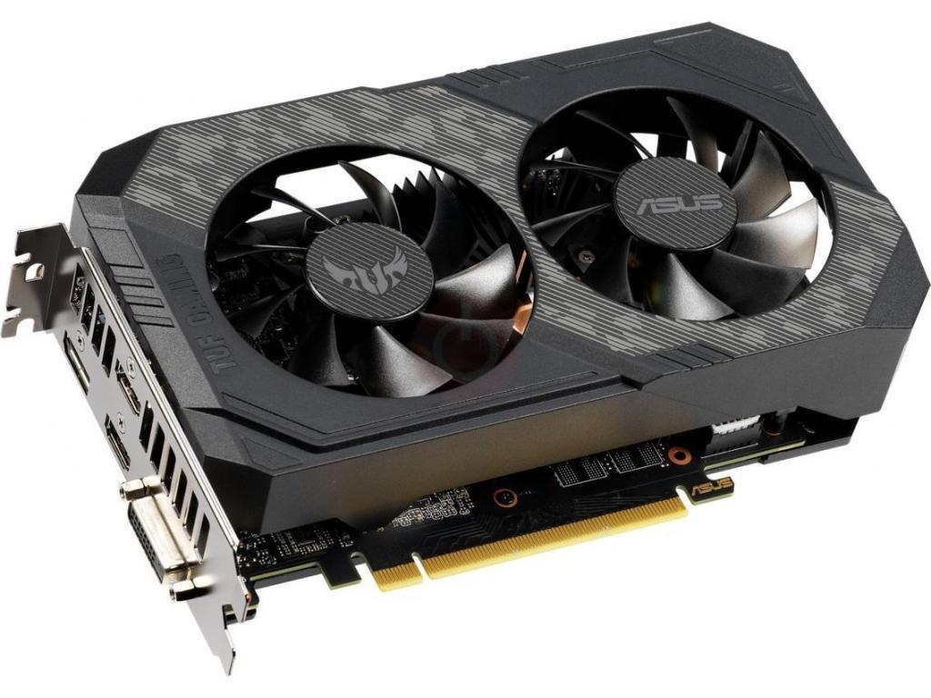 Видеокарта ASUS GeForce GTX 1660 Ti TUF GAMING 1500Mhz PCI-E 3.0 6144Mb 12002Mhz 192 bit DP DVI-D 2xHDMI TUF-GTX1660Ti-O6G-GAMING
