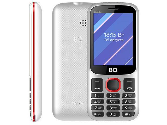 Сотовый телефон BQ 2820 Step XL+ White-Red цена и фото