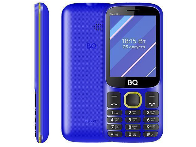 Сотовый телефон BQ 2820 Step XL+ Blue-Yellow