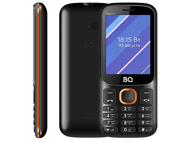 Сотовый телефон BQ 2820 Step XL+ Black-Orange
