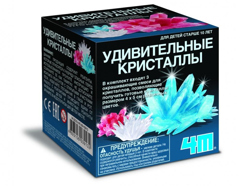 Игра 4M Удивительные кристаллы Мультицвет 00-03913/US