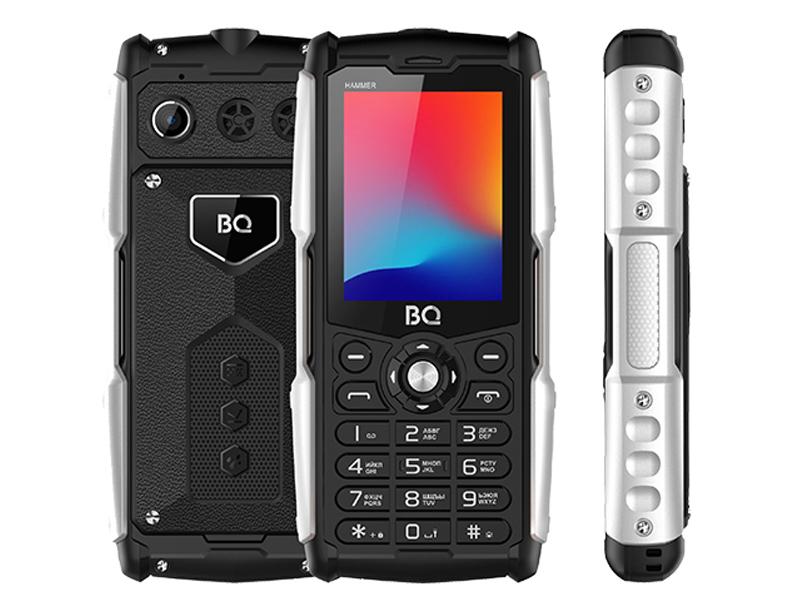 Сотовый телефон BQ 2449 Hammer Black фото