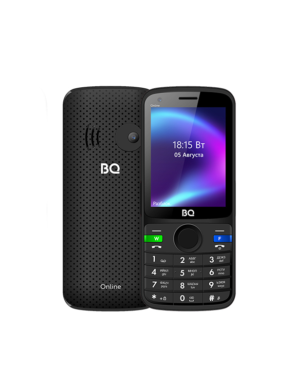 Сотовый телефон BQ 2800G Online Black цена и фото