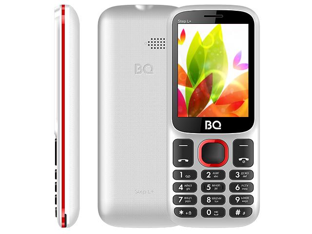 Сотовый телефон BQ 2440 Step L+ White-Red