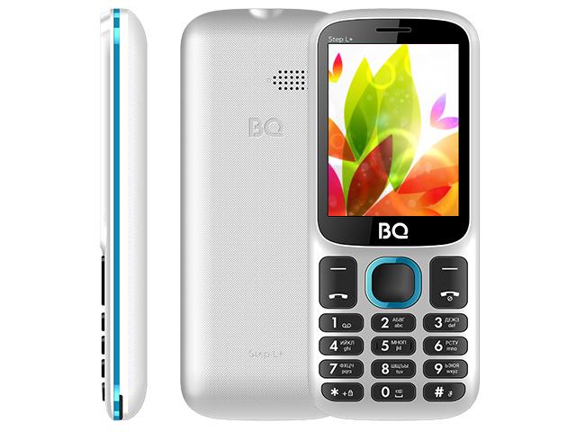 Сотовый телефон BQ 2440 Step L+ White-Blue