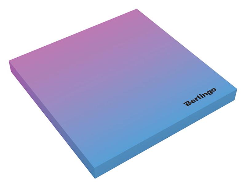 Стикеры Berlingo Ultra Sticky Radiance 75x75mm 50 листов Pink-Light Blue LSn_39801 295147