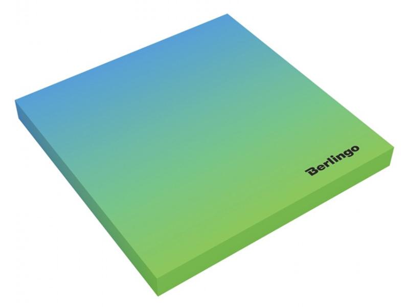 Стикеры Berlingo Ultra Sticky Radiance 75x75mm 50 листов Light Blue-Green LSn_39802 295148