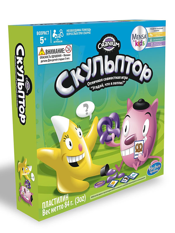 Игрушка Hasbro Other Games Скульптор C0433121