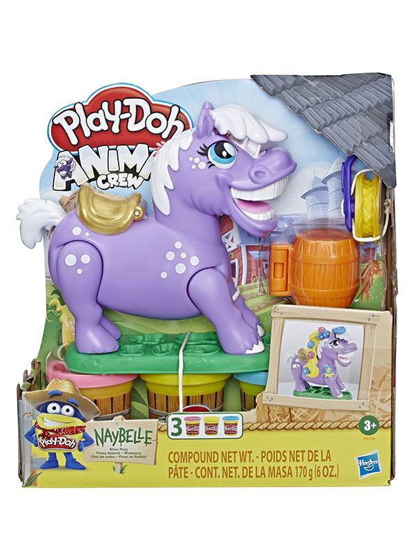 Игрушка Hasbro Play-Doh Пони-трюкач E67265L0