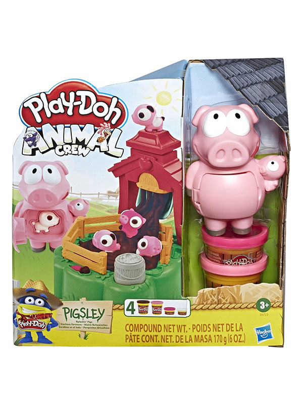 Игрушка Hasbro Play-Doh Озорные поросята E67235L0