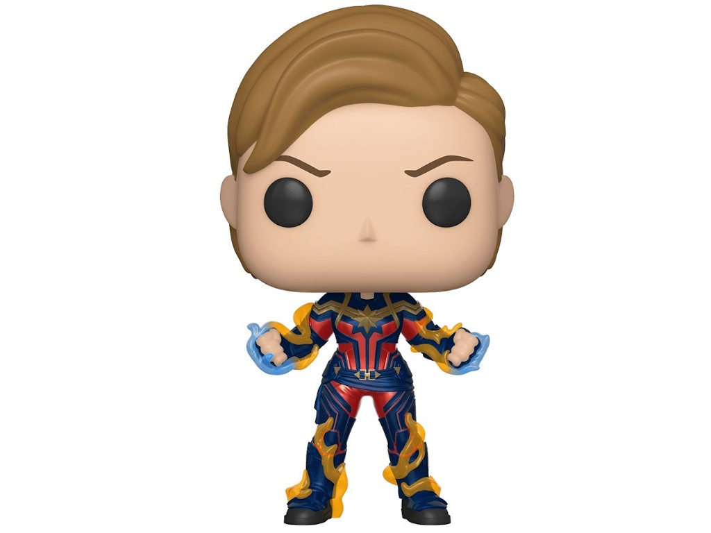 Фигурка Funko POP! Bobble Avengers Endgame Captain Marvel with New Hair 45143