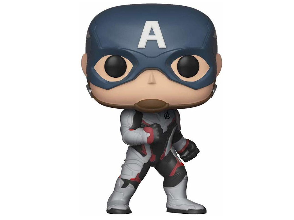 Фигурка Funko POP! Bobble Marvel Avengers Endgame Captain America 36661