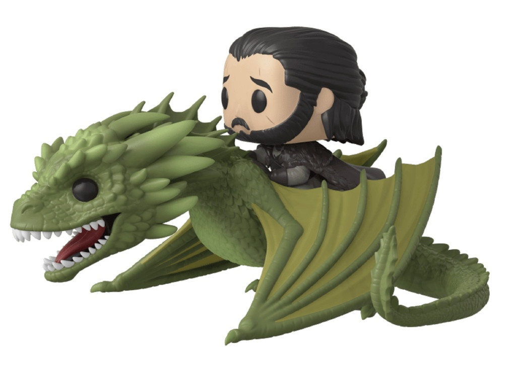 Funko POP! Rides: Game of Thrones - Джон Сноу на Рейгале 44448