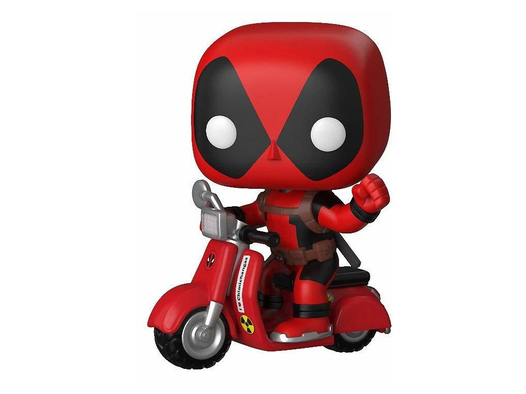 Фигурка Funko POP! Rides Deadpool & Scooter 30969