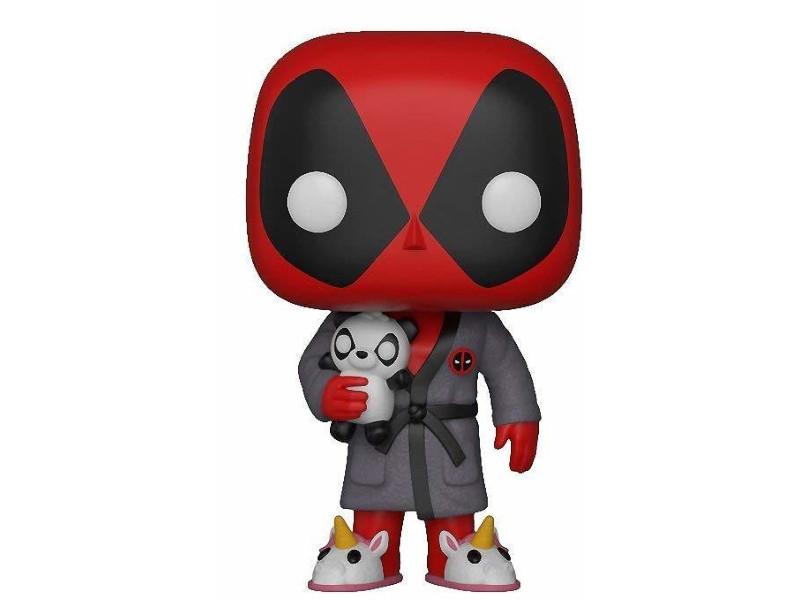 Фигурка Funko POP! Bobble Marvel Deadpool in Robe 31118