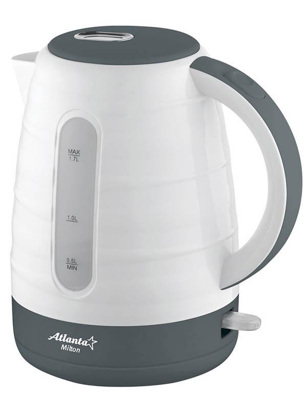 Чайник Atlanta ATH-2375 White все цены