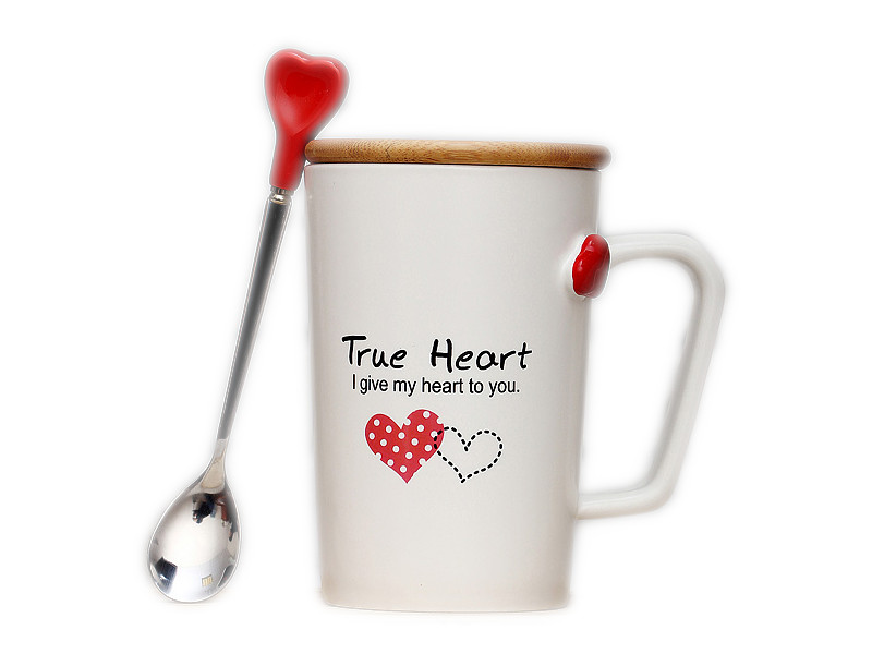 Кружка Эврика С сердцем №3 99511