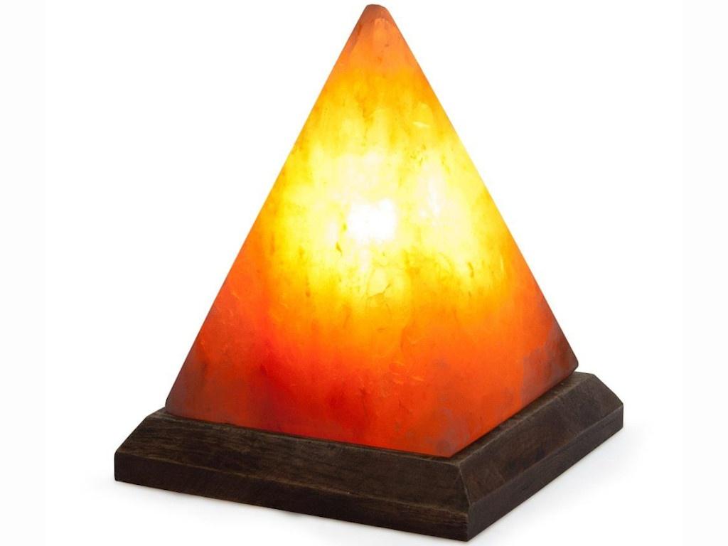 Солевая лампа Stay Gold Пирамида большая с диммером printio пирамида
