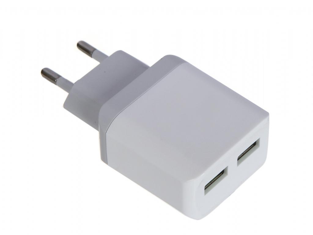Зарядное устройство LuxCase QY-15G 2U3 2xUSB 3.2A 98305