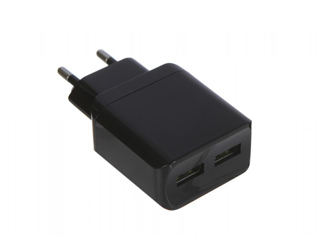 Зарядное устройство LuxCase QY-15G 2U2 2xUSB 2.4A 98304