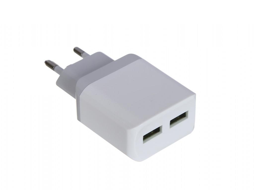 Зарядное устройство LuxCase QY-15G 2U2 2xUSB 2.4A 98303