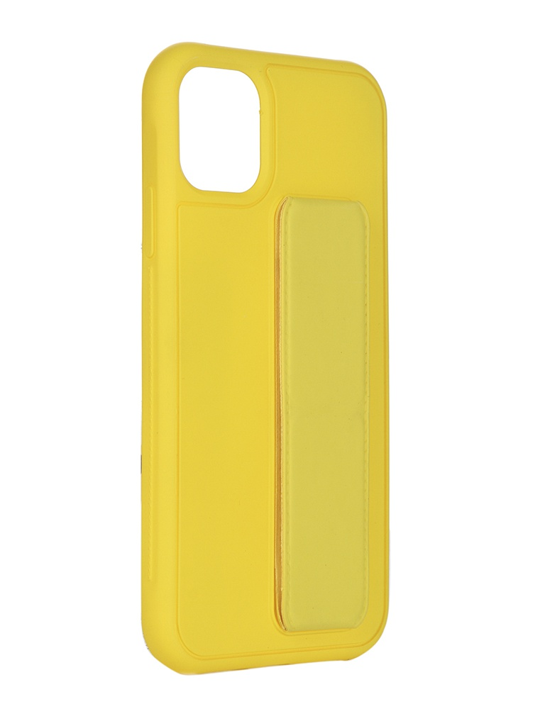 Чехол LuxCase для APPLE iPhone 11 PC+TPU Yellow 64002