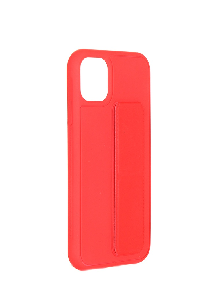 Чехол LuxCase для APPLE iPhone 11 PC+TPU Red 64004