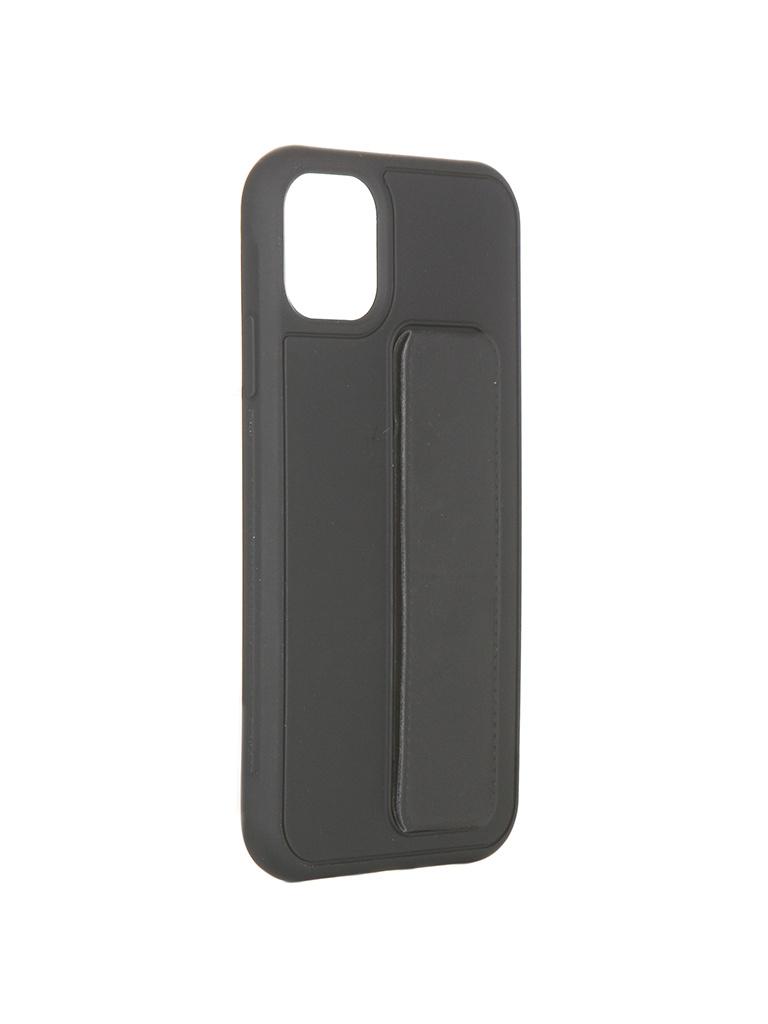 Чехол LuxCase для APPLE iPhone 11 PC+TPU Black 64003