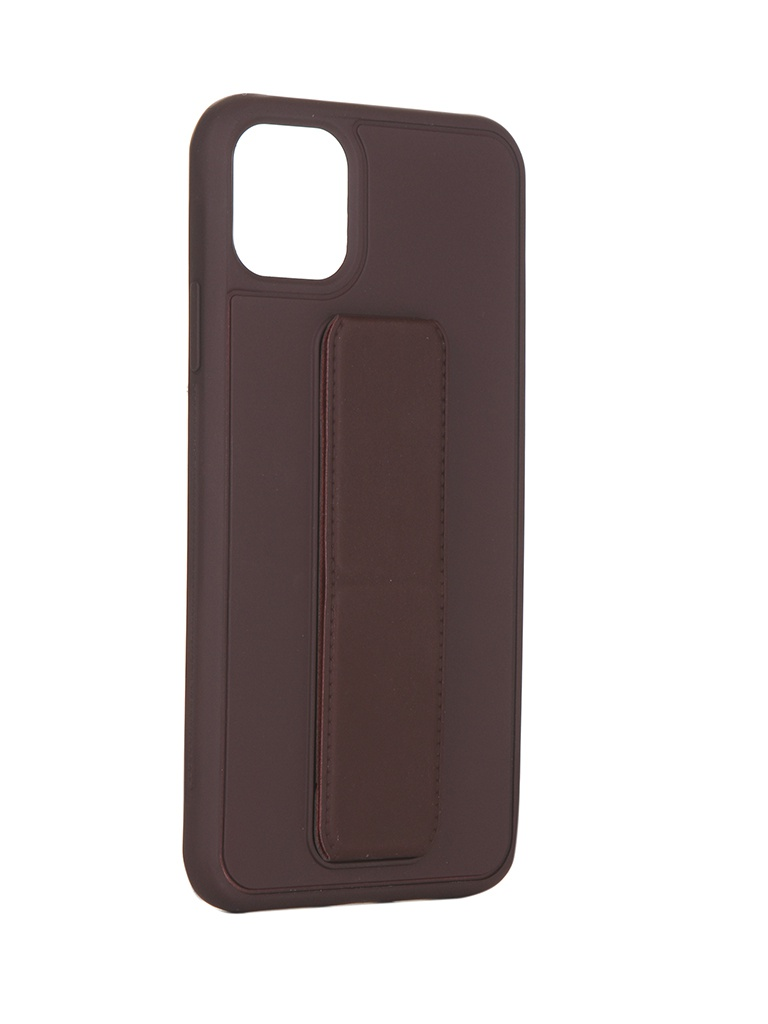 Чехол LuxCase для APPLE iPhone 11 Pro Max PC+TPU Bordo 64009
