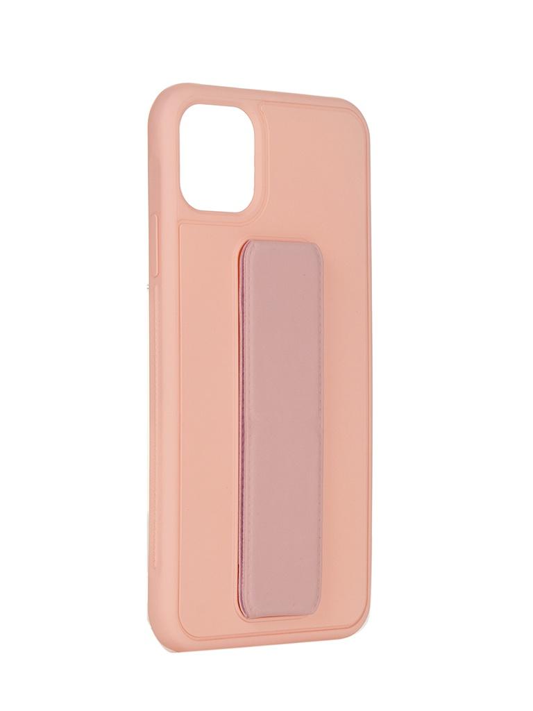 Чехол LuxCase для APPLE iPhone 11 Pro Max PC+TPU Pink 64010
