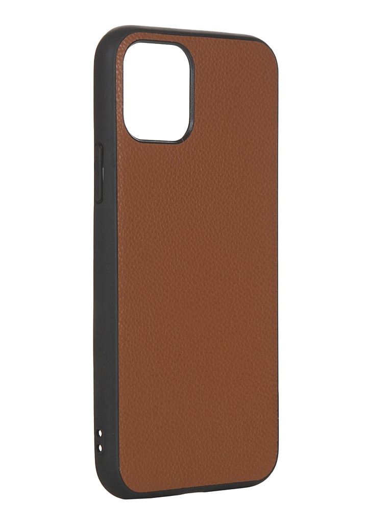 Чехол LuxCase для APPLE iPhone 11 Pro Кожа+TPU Caramel 66005