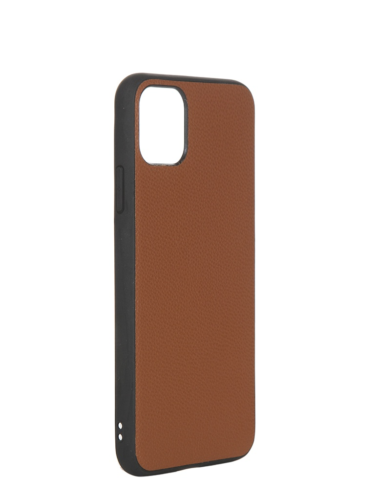 Чехол LuxCase для APPLE iPhone 11 Pro Max Кожа+TPU Caramel 66008