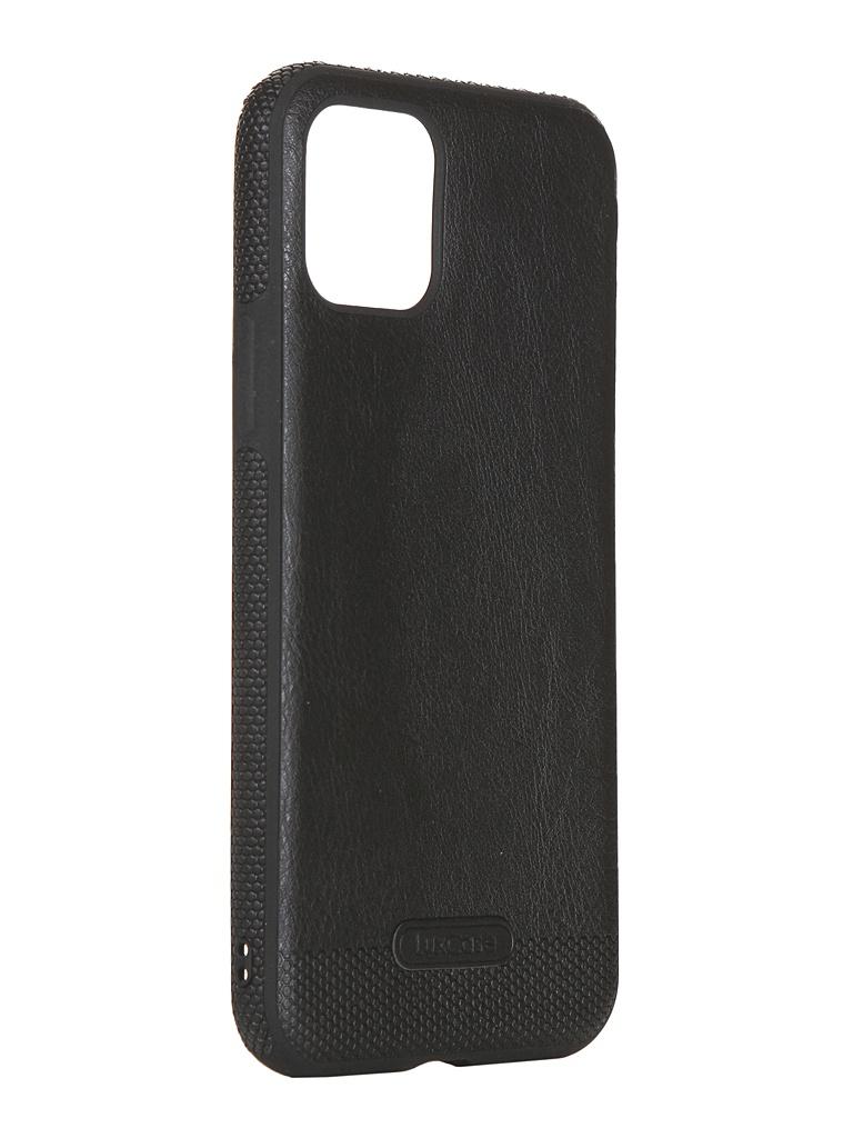 Чехол LuxCase для APPLE iPhone 11 Pro Экокожа+TPU Black 67504 аксессуар чехол для senseit t300 экокожа black