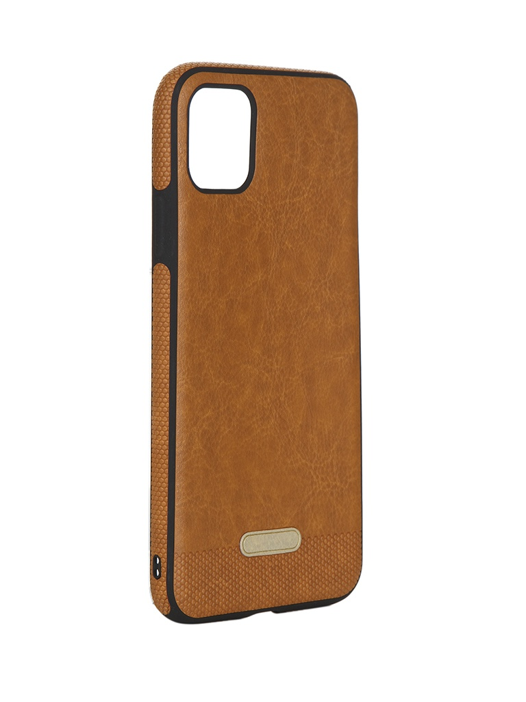Чехол LuxCase для APPLE iPhone 11 Pro Max Экокожа+TPU Caramel 67507