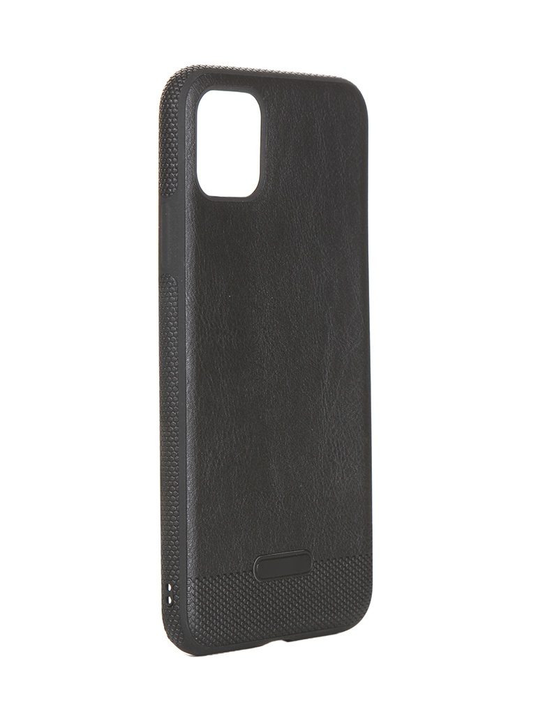 Чехол LuxCase для APPLE iPhone 11 Pro Max Экокожа+TPU Black 67506