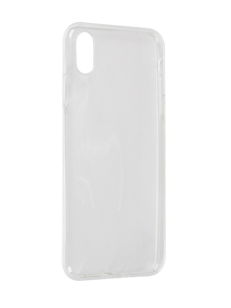 Чехол LuxCase для APPLE iPhone XS Max Transparent 60046