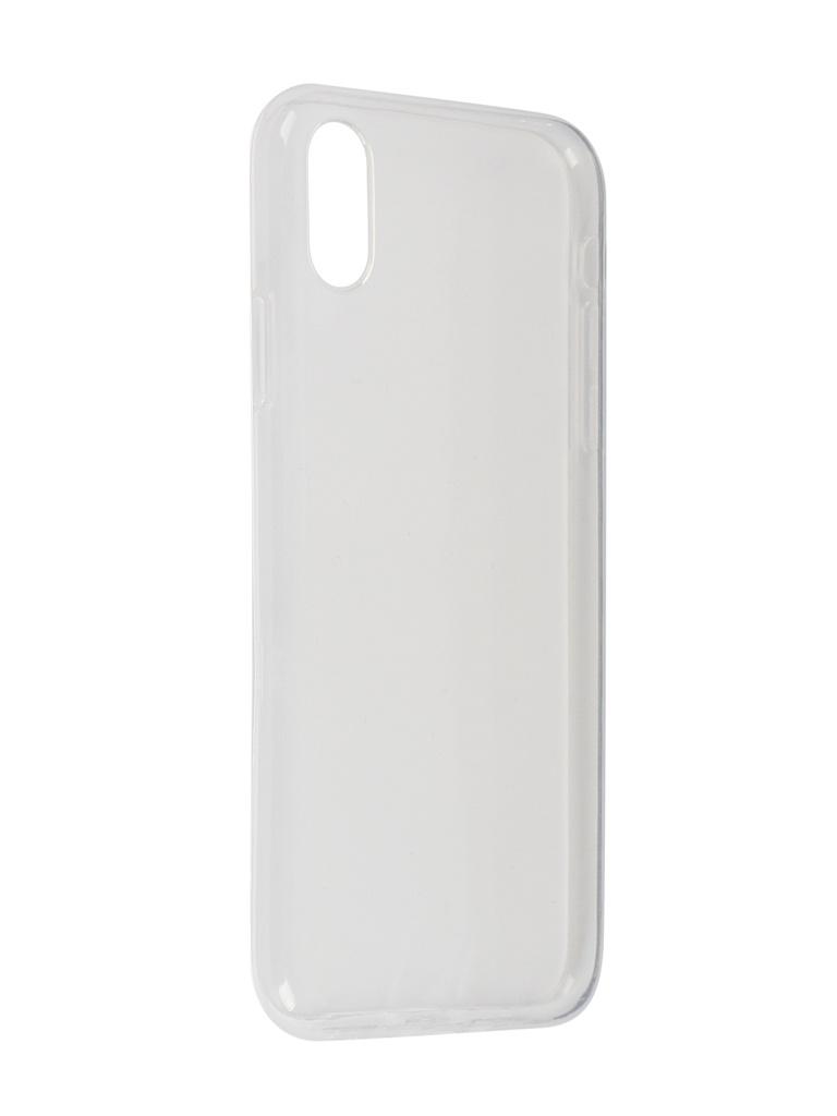 Чехол LuxCase для APPLE iPhone XR Transparent 60043