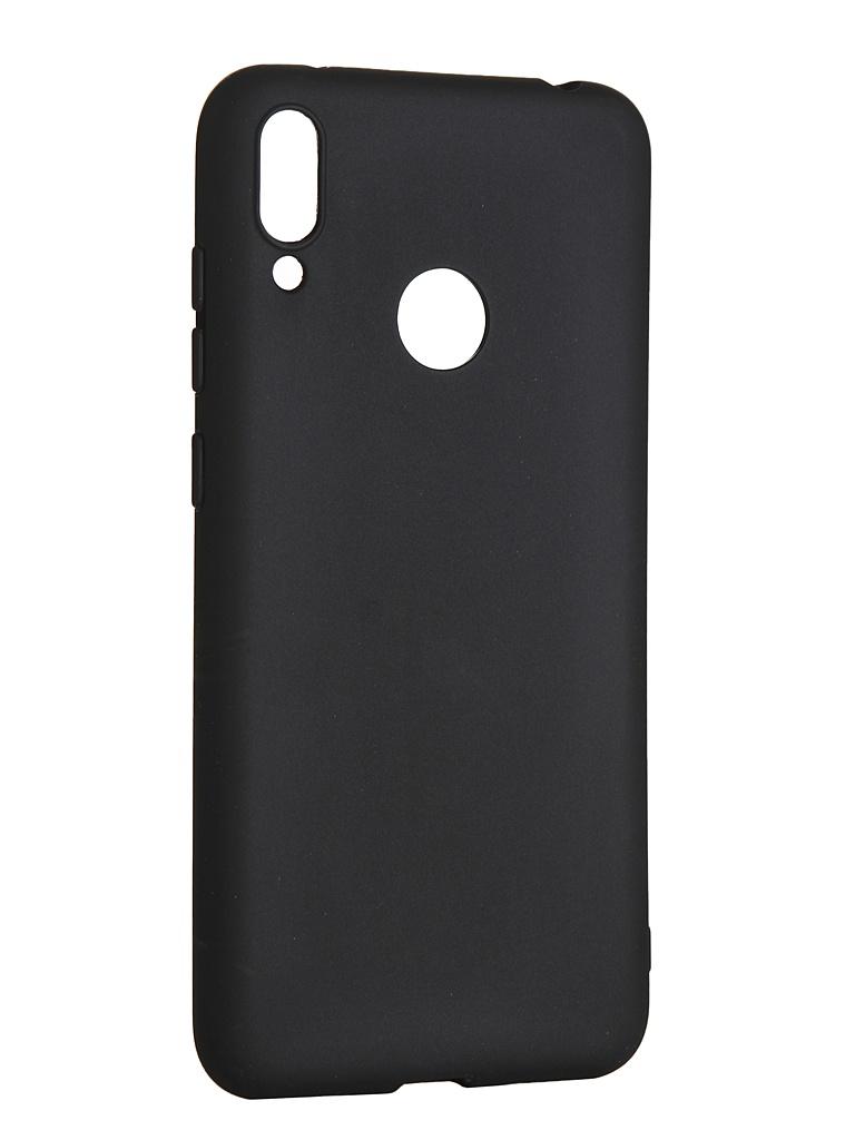 Чехол LuxCase для Huawei Y7 2019 TPU Black 62050