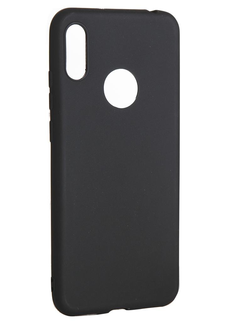 Чехол LuxCase для Huawei Y6 2019 TPU Black 62053