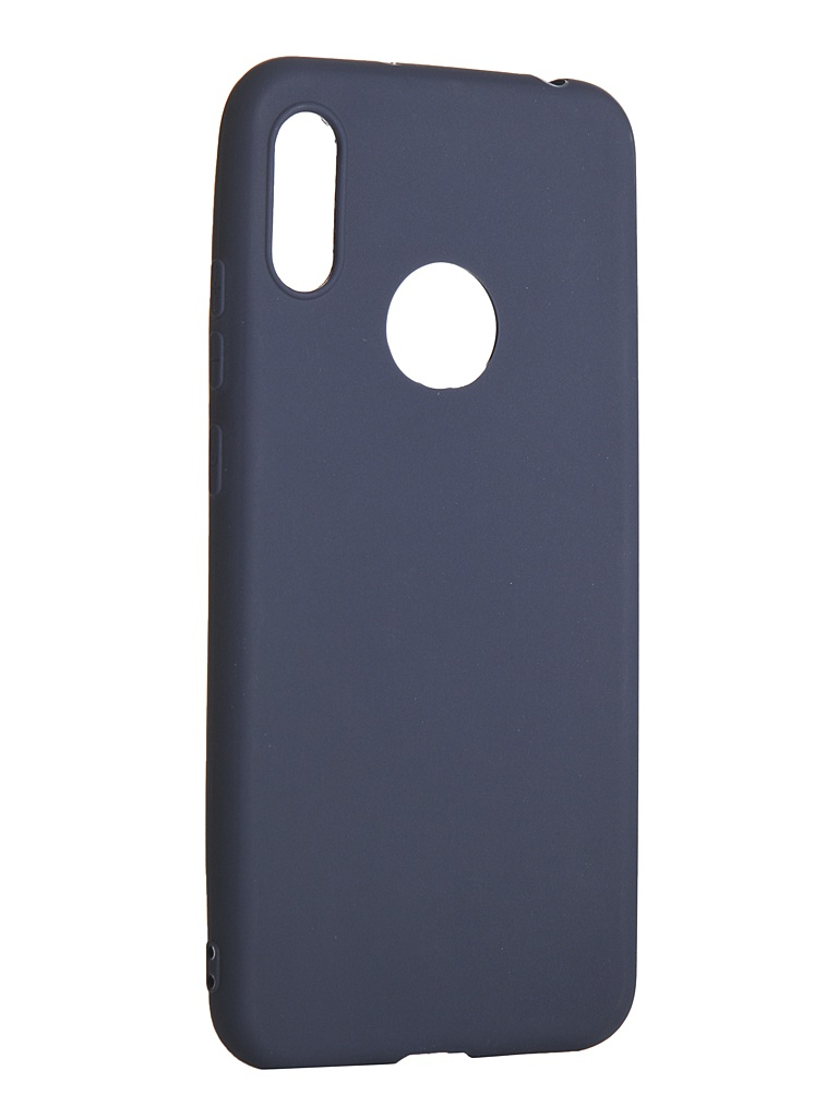 Чехол LuxCase для Huawei Y6 2019 TPU Blue 62054