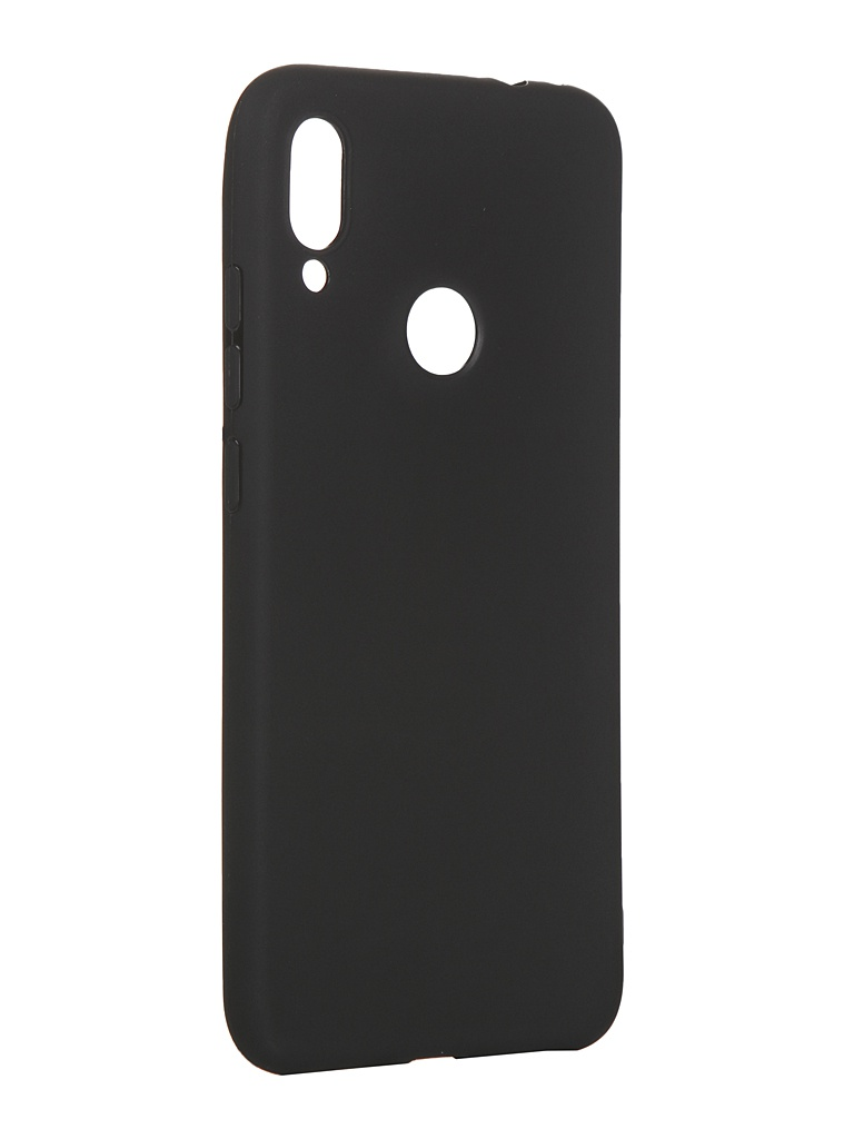Чехол LuxCase для Xiaomi Redmi Note 7 TPU Black 62120