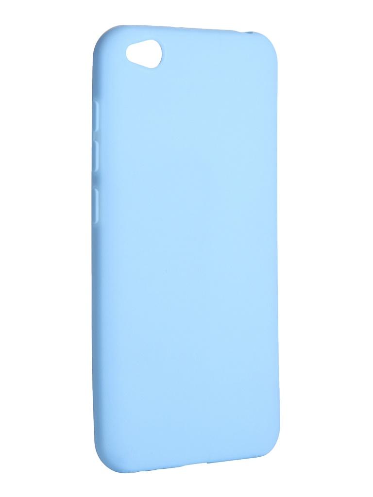Чехол LuxCase для Xiaomi Redmi Go TPU Blue 62123